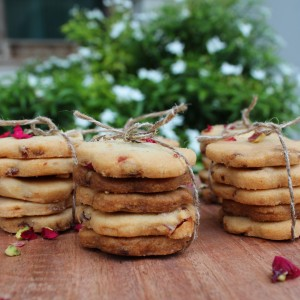 Rose Butter Biscuits